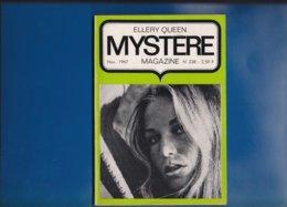""""" ELLERY QUEEN """"  --  Mystére Magazine -- Novembre. 1967 -- N° 238 .... - Opta - Ellery Queen Magazine"