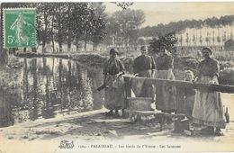Palaiseau (Seine-et-Oise) Les Bords De L'Yvette, Les Laveuses (Lavandières) - Carte Salamandre N° 1504 - Palaiseau