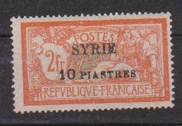 SYRIE        N°  YVERT  :   117   NEUF AVEC  CHARNIERES      (  CH  01/22 ) - Syrien (1919-1945)