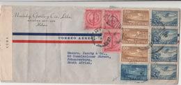 Cuba / Airmail / Censorship / South Africa - Non Classificati