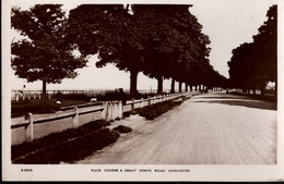 ! Alte Foto Ansichtskarte , Photo, Race Course Doncaster - Angleterre