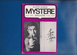""""" ELLERY QUEEN """"  --  Mystére Magazine --  Janvier  1968  -- N° 240 .... - Opta - Ellery Queen Magazine"