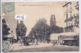 PARIS XIII- CARREFOUR DE LA GLACIERE - Arrondissement: 13