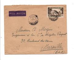 A O F LETTRE AVION DE DAKAR POUR LA FRANCE - A.O.F. (1934-1959)