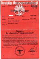 Deutsche Volksgemeinschaft METZ 1942 - 1939-45