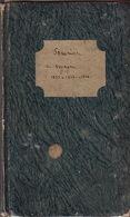 Voyage à Offenburg. Souvenirs De Baden. Voyage à Schirmeck Et Au Champ De Feu, Au Kaiserthul Et à Freyburg, Etc. - Manuscritos