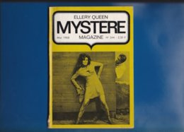 """"" ELLERY QUEEN """"  --  Mystére Magazine --  N° 244  De  Mai  1968 .... - Opta - Ellery Queen Magazine"
