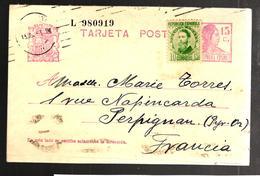26859 - Entier  Pour La France - 1931-Heute: 2. Rep. - ... Juan Carlos I