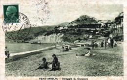 Italie -  VENTIMIGLIA - Spiaggia S Giuseppe - Imperia