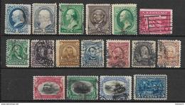 America - USA, Lot Of Used Stamps - Stati Uniti