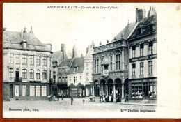 62  CPA    AIRE-SUR-LA-LYS  Un Coin De La Grand'Place     Bon état - Aire Sur La Lys