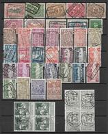 Belgium Lot Of Different Stamps. - België