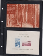 Japan - 1955 - SC 608a - Souvenir Sheet - Chichibu-Tama National Park - MNH - Japon