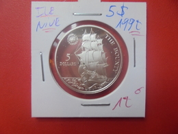 """ILE NIUE 5$ 1992 """"PROOF"""" ARGENT(A.4) - Niue"""