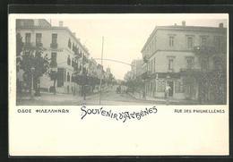 AK Athen, Rue Des Philhellenes - Griechenland