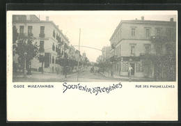 AK Athen, Rue Des Philhellenes - Greece