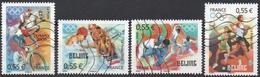 France N° 4222 à 4225 Oblitérés - Série Complète - Sports - Jeux Olympiques - Beijing - France