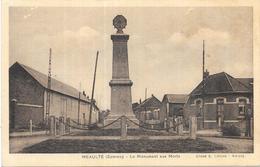MEAULTE: LE MONUMENT AUX MORTS - Meaulte