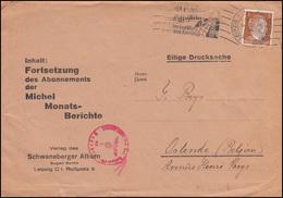 Zensur Oberkommando Der Wehrmacht Drucksache LEIPZIG 9.3.43 Michel-Berichte-Abo - Autres