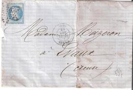 PARIS Etoile Pleine.dateur 1378 - Postmark Collection (Covers)