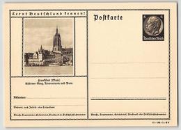 DR, BILDPOSTKARTE, P 236, 41-182-1-B 9, FRANKFURT, GANZSACHE POSTAL STATIONERY, UNGEBRAUCHT - Germania