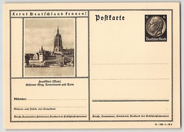 DR, BILDPOSTKARTE, P 236, 41-182-1-B 9, FRANKFURT, GANZSACHE POSTAL STATIONERY, UNGEBRAUCHT - Germany