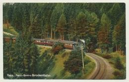 AK  Harzquerbahn Brockenbahn - Trains