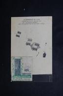 FRANCE - Vignette De La Semaine D'Aviation De Caen Sur Carte Postale En 1910 - L 50521 - Cartas