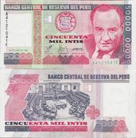 Peru 1988 - 50000 Intis - Pick 142 UNC - Perú