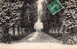 GROSLAY Ancienne Demeure Des BEAUHARNAIS Allée Des Tilleuls - Groslay