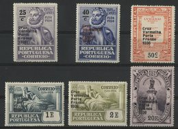 PORTUGAL Timbres De FRANCHISE Cote 7.5 € N° 85 à 90. Neufs ** (MNH). Série Complète De 6 Valeurs Surchargées. TB - Franchigia
