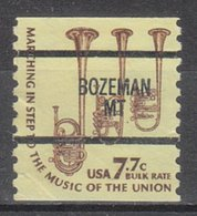 USA Precancel Vorausentwertung Preo, Bureau Montana, Bozeman 1614-87 - Vereinigte Staaten