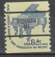 USA Precancel Vorausentwertung Preo, Bureau Montana, Bozeman 1615C-87 - Vereinigte Staaten