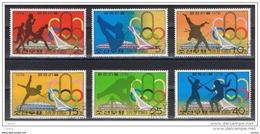 COREA  DEL  NORD:  1976  MONTREAL  -  S. CPL. 6  VAL. US. -  YV/TELL. 1392 A/F - Estate 1976: Montreal