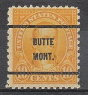 USA Precancel Vorausentwertung Preo, Bureau Montana, Butte 642-61 - Vereinigte Staaten