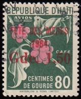 HAÏTI - Scott #C218 Coffee 'Surcharged' / Used Stamp - Haiti