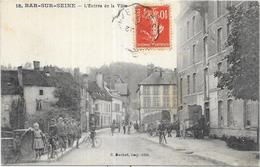 BAR SUR SEINE: L'ENTREE DE LA VILLE - Bar-sur-Seine