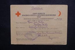 U.R.S.S. - Formulaire Croix Rouge D'un Prisonnier Allemand Pour Berlin En 1948 - L 50530 - 1923-1991 USSR