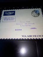 3/10/39 FIRST AIR MAIL HONGKONG HANOI BY AIR FRANCE VICTORIA AVEC ARRIVEE SIGNATURE EXPERT ROUGE EN BAS A DROITE - Hong Kong (...-1997)
