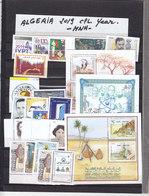 Algeria Complete Year Unit 32019,including Souvenir Sheets MNH- ( No Paypal & No Skrill ) - Algeria (1962-...)