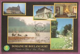 Cpm Domaine De Boulancourt - Chambres D'hotes Prestige - Longevilel Sur La Laines - éditeur LR Reseau 17 - France