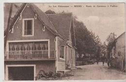 Miers ( Lot) Route De Carennac à Padirac , Automobile En Fond - Autres Communes