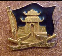 MILITARIA, INSIGNE COMMANDANT RIVIERE - Navy