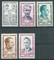 Timbre France Neuf * Yvt N° 1198-1202 - France