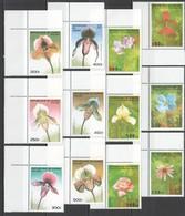 E300 1995,1997 DE GUINEE FLORA FLOWERS ORCHIDS !!! 2SET MNH - Orquideas