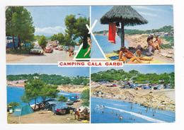 Costa Dorada Tarragona Salou Camping Cala Garbi En 1973 Citroën DS Opel VW Käfer Tentes - Tarragona