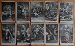 Jeanne D'Arc - Série Complète De 10 CPA - Vie De Jeanne D'Arc - CPA Colorisées - (n°16909) - History