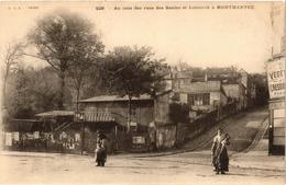 CPA PARIS (18e) Au Coin Des Rues Des Saules Et Lamarck (538137) - Arrondissement: 18
