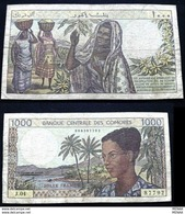 COMOROS - 1000 FRANCS - 1984 - Comore