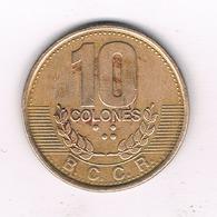10 COLONES 1995 COSTA RICA /277/ - Costa Rica